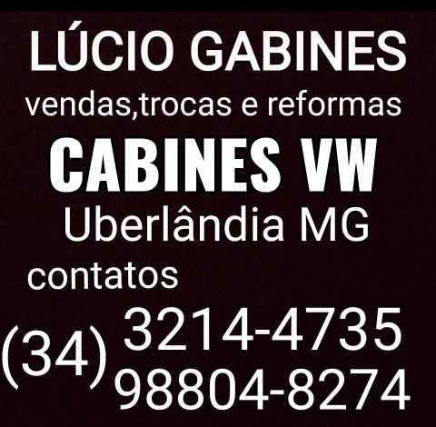 cabine caminhão volkswagen 7.110/23.230/8.150/26.220/17.210/