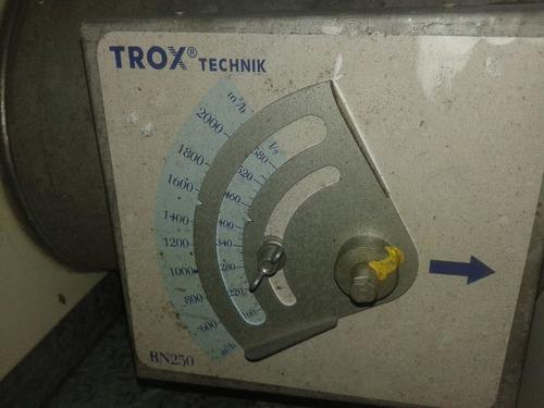 cabine de fluxo laminar ,amostragem trox
