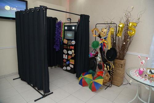 cabine de fotos aluguel até 5 horas - são paulo e região