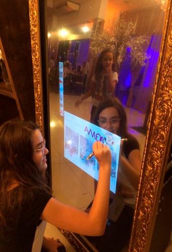 cabine de fotos e espelho mágico-são paulo,  locação