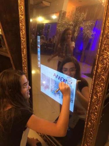 cabine de fotos ou espelho mágico locação são paulo
