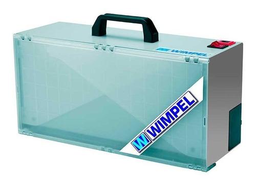cabine de pintura para aerografia com luz - wimpel - bivolt