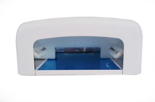 cabine estufa forno uv unha acrigel 36w profissional 110v uv