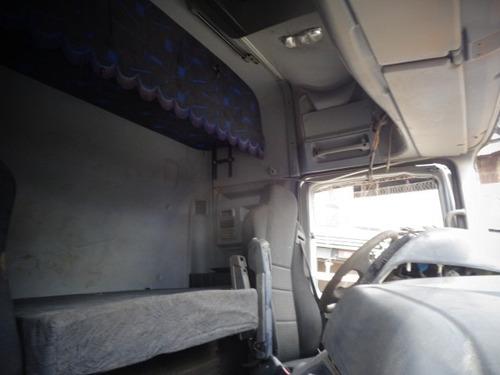 cabine mb actros 2546, branca, semi completa