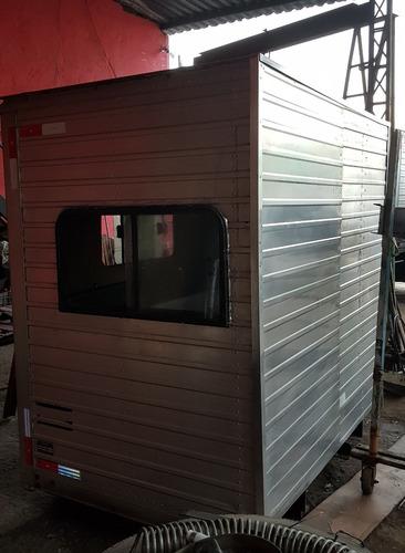 cabine suplementar auxiliar casinha 8 lugares aluminio