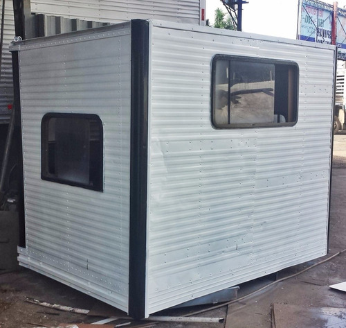 cabine suplementar casinha auxiliar 4 6 8 lugares parcelamos