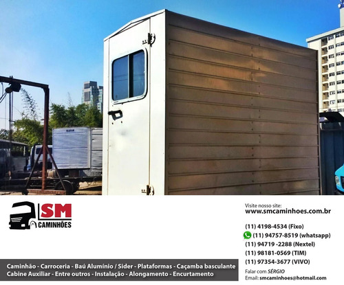 cabine suplementar casinha auxiliar 4 6 e 8 lugares