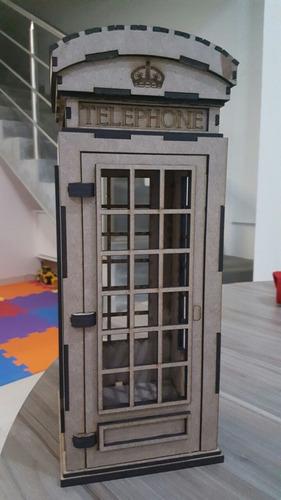 cabine telefonica mdf 60cm