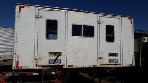 cabines suplementar 16 lugares 20 unidades