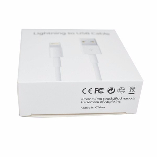 cable 1 metro iphone 7 iphone 6 ipad original manual sellado