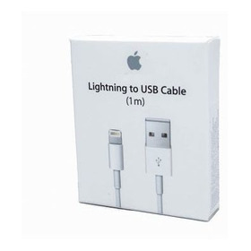 Cable 100% Original Lightning Cargador iPhone 1 Metro