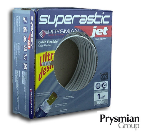 cable 1mm unipolar superastic pirelli prysmian x100mts
