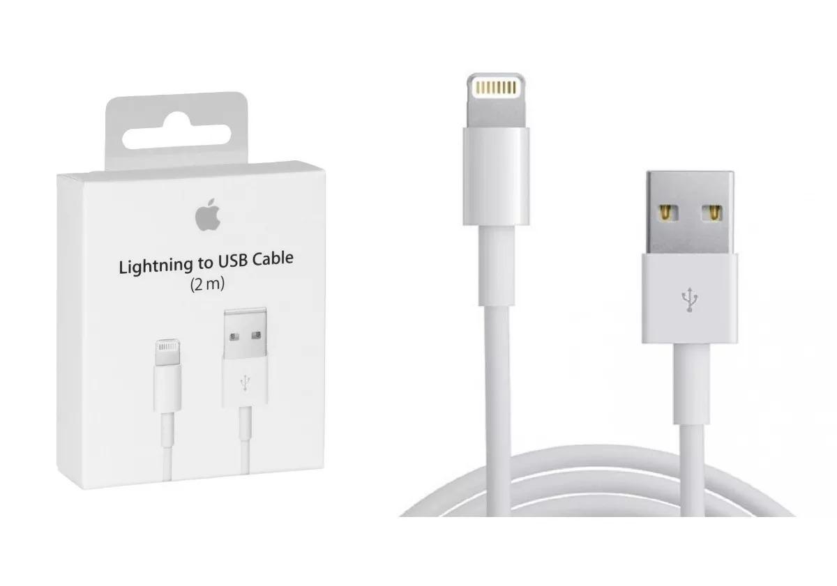 3d9e595d9c7 Cable 2 Metros iPhone 6s 7 Plus Original Lightning Cargador - $ 499 ...