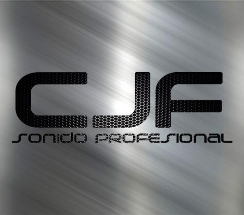cable 2 rca a 2 rca libre ruido audiosonic uso prof 1,8 cjf