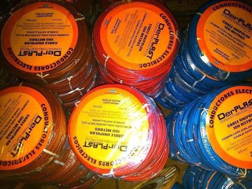 cable 4 mm unipolar rollo 100mts electrico super oferta