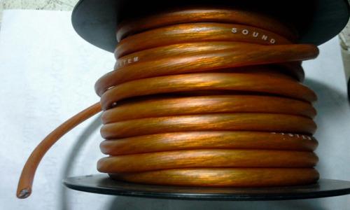 cable #4 rmpro para plantas de carro x metro ..