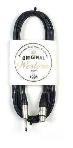 cable 6m canon hembra plug mono neutrik western cpn60