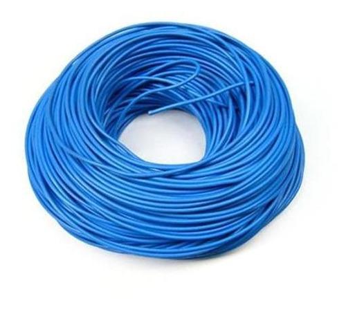 cable 7 hilos no12 azul rollox 100 thhn/thwn awg 600v 90c pr