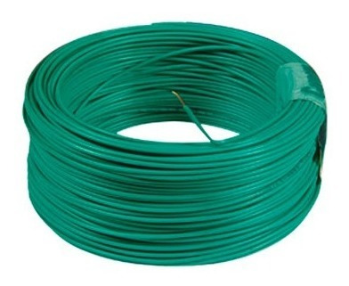 cable 7 hilos no12 verde rollox 100m thhn/thwn awg 600v 90c