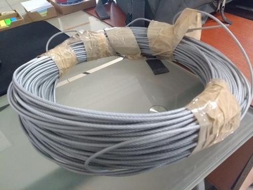 cable ac galv forrado transparente