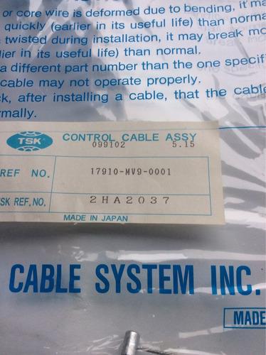 cable acelerador cbr 600 90/99 17910-mal-600