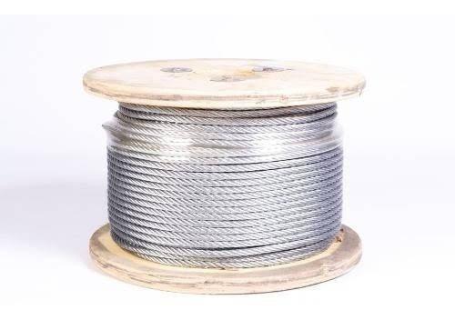 cable acero galvanizado 5/16.  marca forte