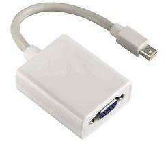 cable adaptador conversor mdp mini display port a vga 18cm