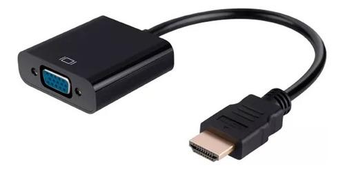 cable adaptador convertidor hdmi a vga aux. 3.5 laptop tv /e