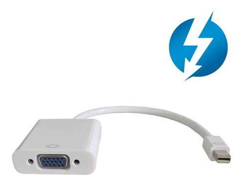 cable adaptador convertidor minidisplay port a vga monitor
