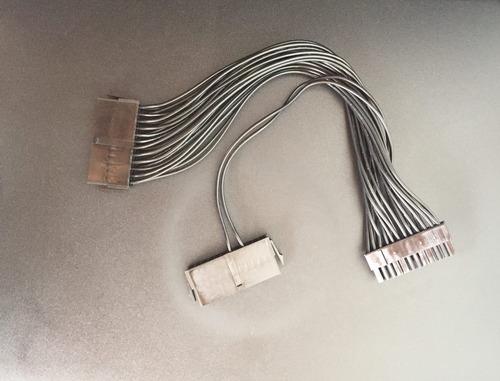 cable adaptador de 24 pin para unir dos fuentes de poder