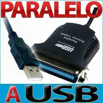 cable adaptador de usb a paralelo 36 pines para impresora