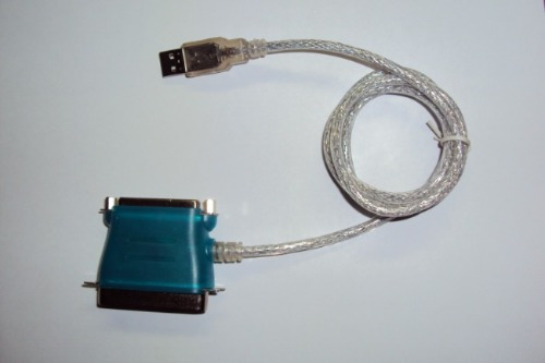 cable adaptador de usb a paralelo centronic & db25 impresora