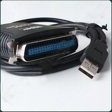 cable adaptador de usb a puerto paralelo 36pines centronix