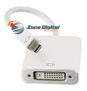 cable adaptador de video mini displayport a dvi