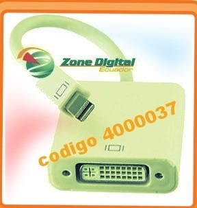cable adaptador de video mini displayport a dvi