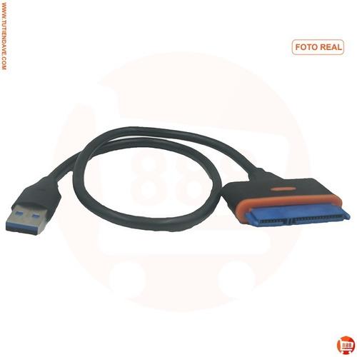 cable adaptador disco duro sata a usb 3.0 hdd ssd