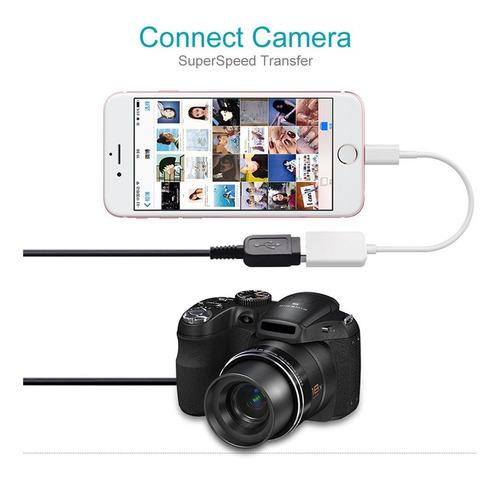 cable adaptador hembra otg crelander usb compatible w01