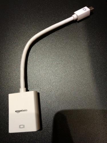 cable adaptador mini display port a hdmi mac macbook