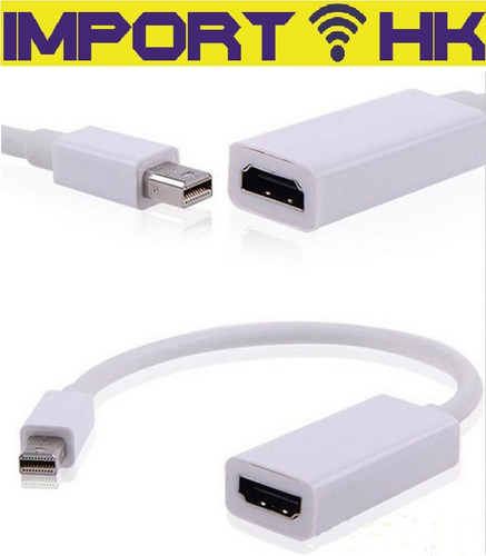 cable adaptador mini  display port a hdmi macbook mac