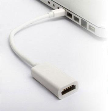 cable adaptador mini display port a hdmi para mac / apple