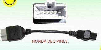 cable adaptador obd2 honda nissan bmw mercedes opel 2x2  vv4