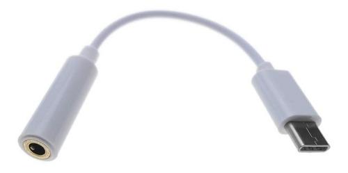 cable adaptador otg mini plug 3.5mm usb tipo c + envio