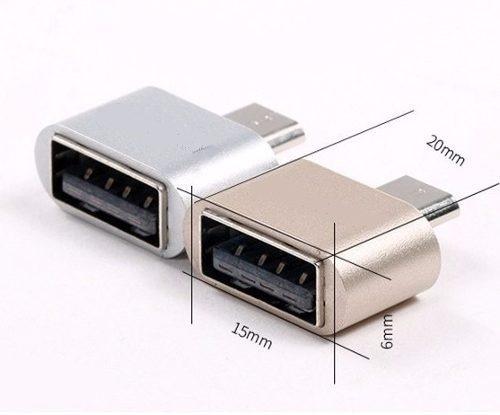 cable adaptador otg usb hembra a v8 memorias mouse teclado