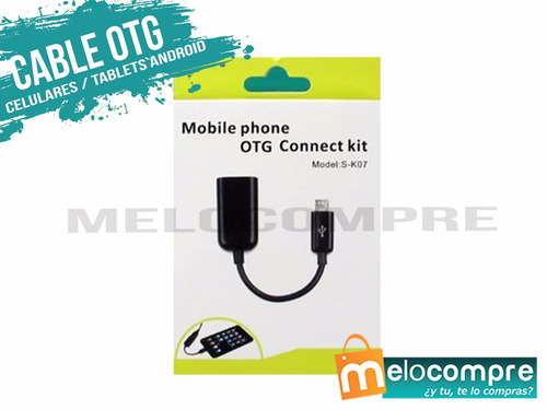 cable adaptador otg usb telefonos tablet android originales