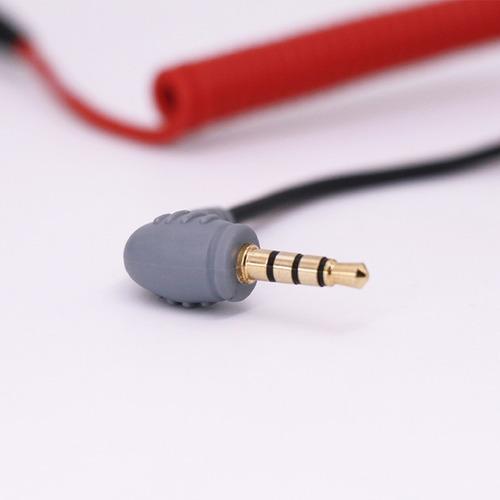 cable adaptador para microfonos y moviles - boya by-cip2