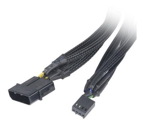 cable adaptador poder ventilador cpu 5x pwm hub alimentacion