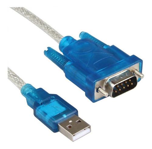 cable adaptador serial rs-232 db9 a usb 2.0 mallado