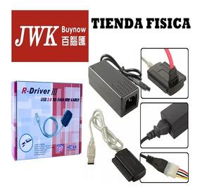 Cable Adaptador Usb 2 0 A Sata Ide R-driver Iii Jwk