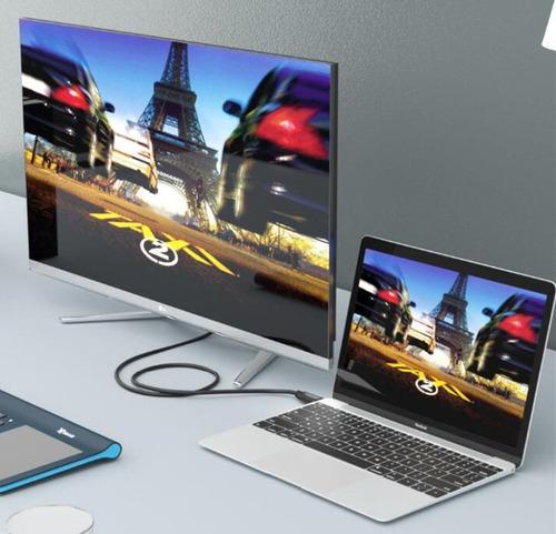 cable adaptador usb c a hdmi 1,8 mt macbook pro mac pc