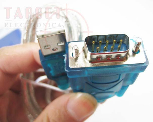 cable adaptador usb - serial puerto serie - rs232 db9